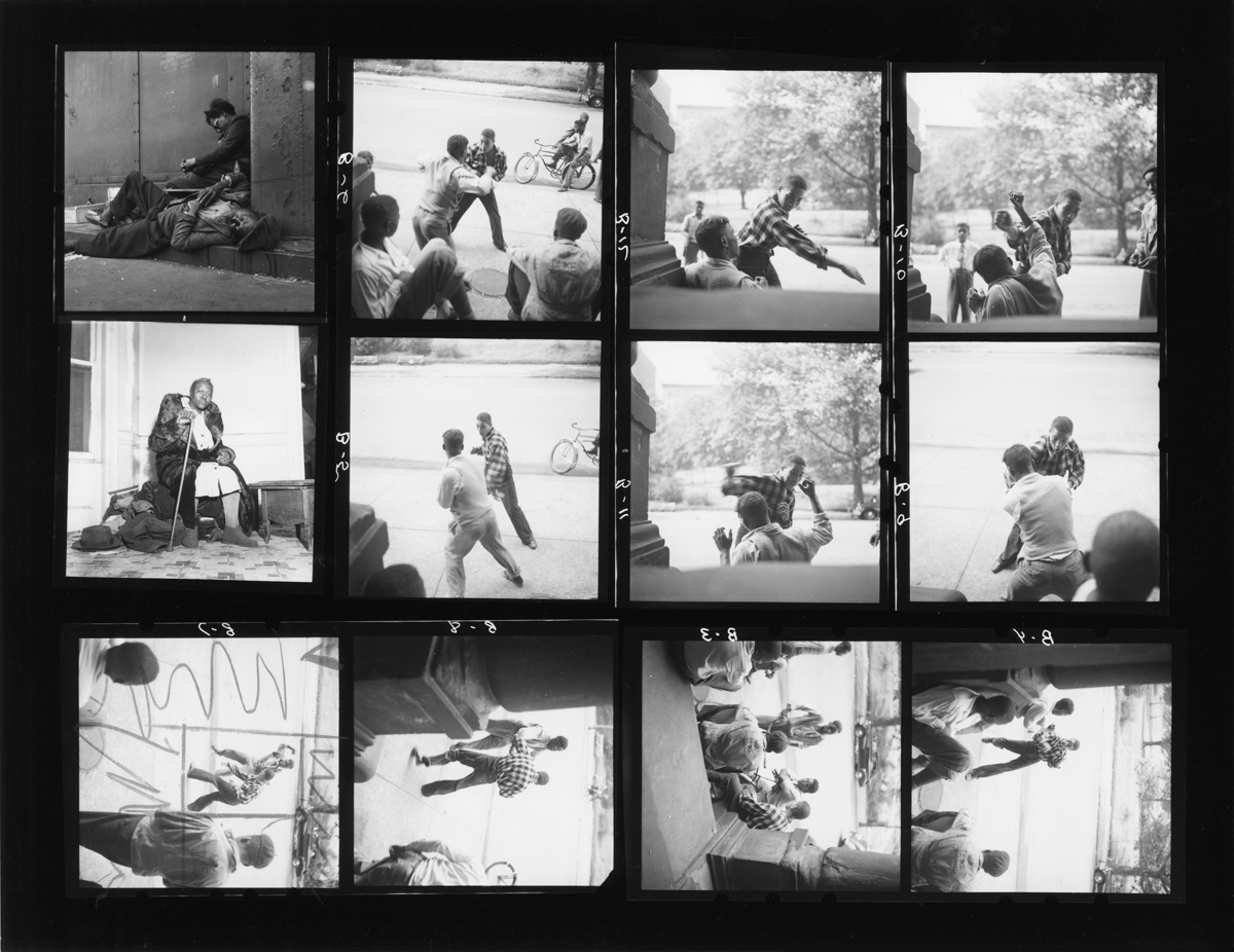 Gordon Parks, 'Untitled, Harlem, New York' (Contact Sheet), 1948.