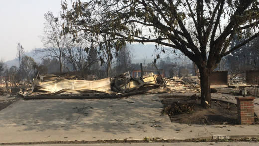 What's left of Music Junkie Press after the North Bay fires
