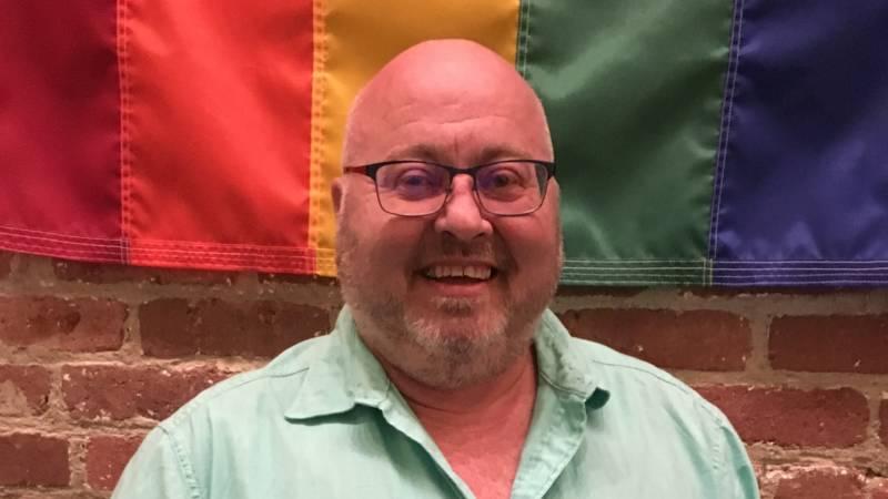 Thomas Kannard, a transgender member of the San Francisco Gay Men's Chorus.