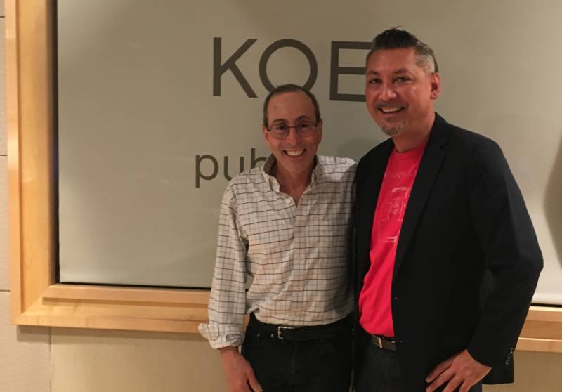 Tomas Riley and Cy Musiker of KQED