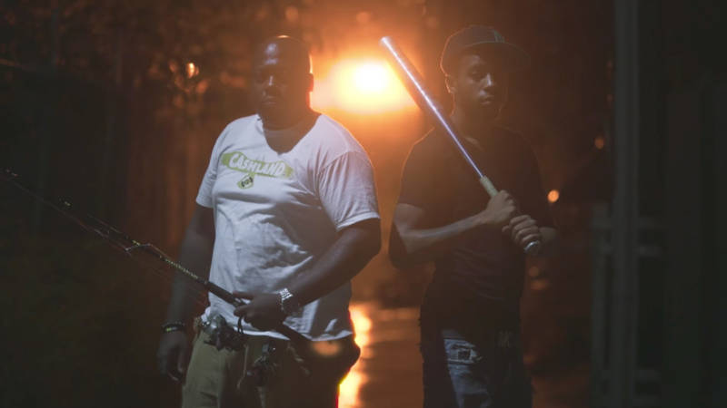Will and Greg Kearney go rat fishing in East Baltimore.