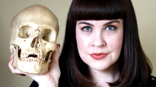 Caitlin Doughty, author of 'From Here to Eternity.'