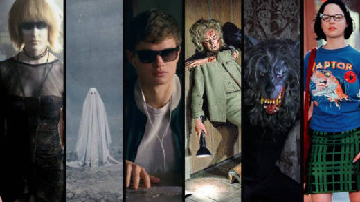 blade runner, a ghost story, baby driver, the birds, creep, ghost world movie images