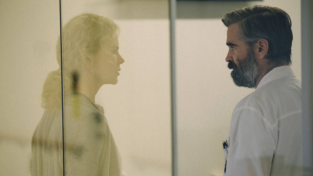 Colin Farrell and Nicole Kidman in 'The Killing of a Sacred Deer.'