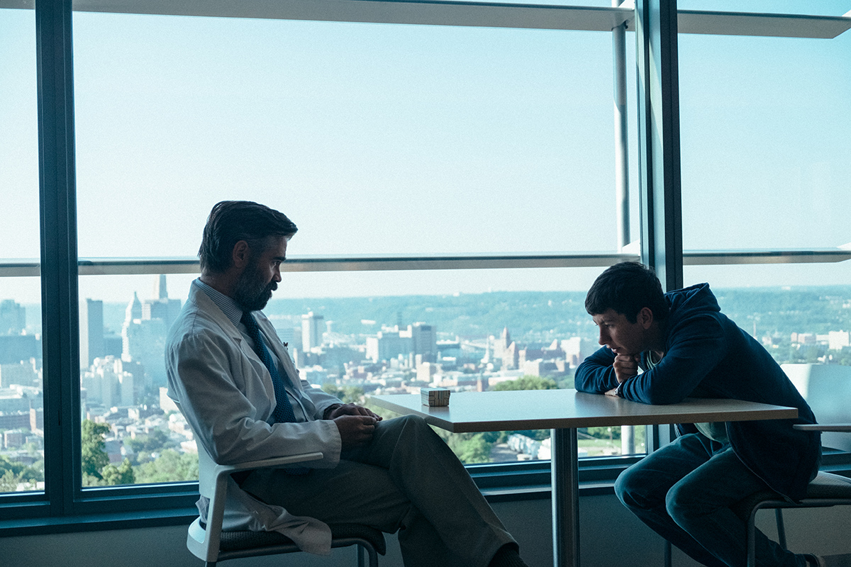 Colin Farrell and Barry Keoghan in 'The Killing of a Sacred Deer.'