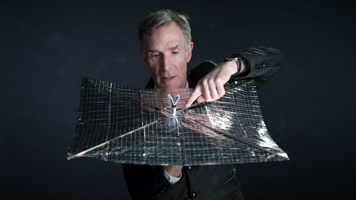 Bill Nye in 'Bill Nye: Science Guy.'