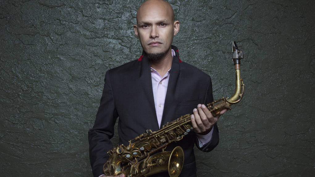 "Miguel Zenon, one of ten recipients of a Hewlett 50 Arts Commission. Zenon is composing a piece for SFJAZZ called ""Golden City Suite."""