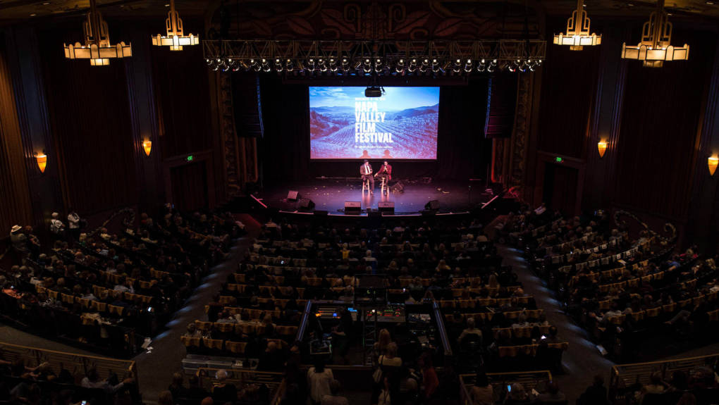 At the Napa Valley Film Festival