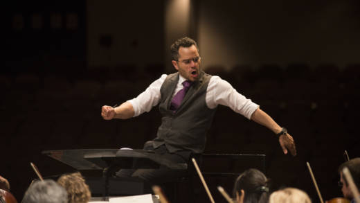 Andrew Grams, a candidate for the music director job at the Santa Rosa Symphony