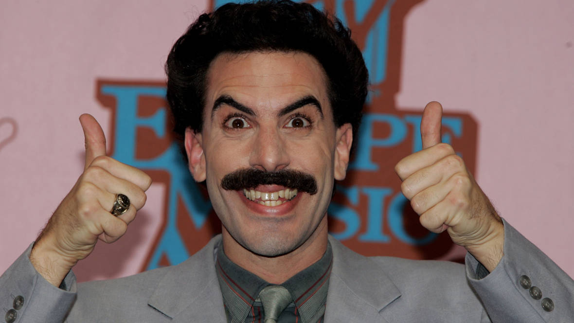 Baron Cohen to Pay Fine for Czechs Sporting Borat Mankinis ...