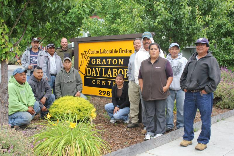 The Graton Day Labor Center in West Sonoma County.