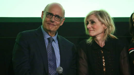Jeffrey Tambor and Judith Light attend a screening event for members of the Screen Actors Guild in New York for the Amazon Prime series 'Transparent' on September 14, 2017 in New York City.