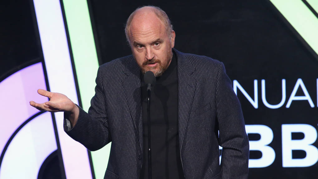 Louis C.K. speaks onstage at the The 21st Annual Webby Awards at Cipriani Wall Street on May 15, 2017 in New York City.