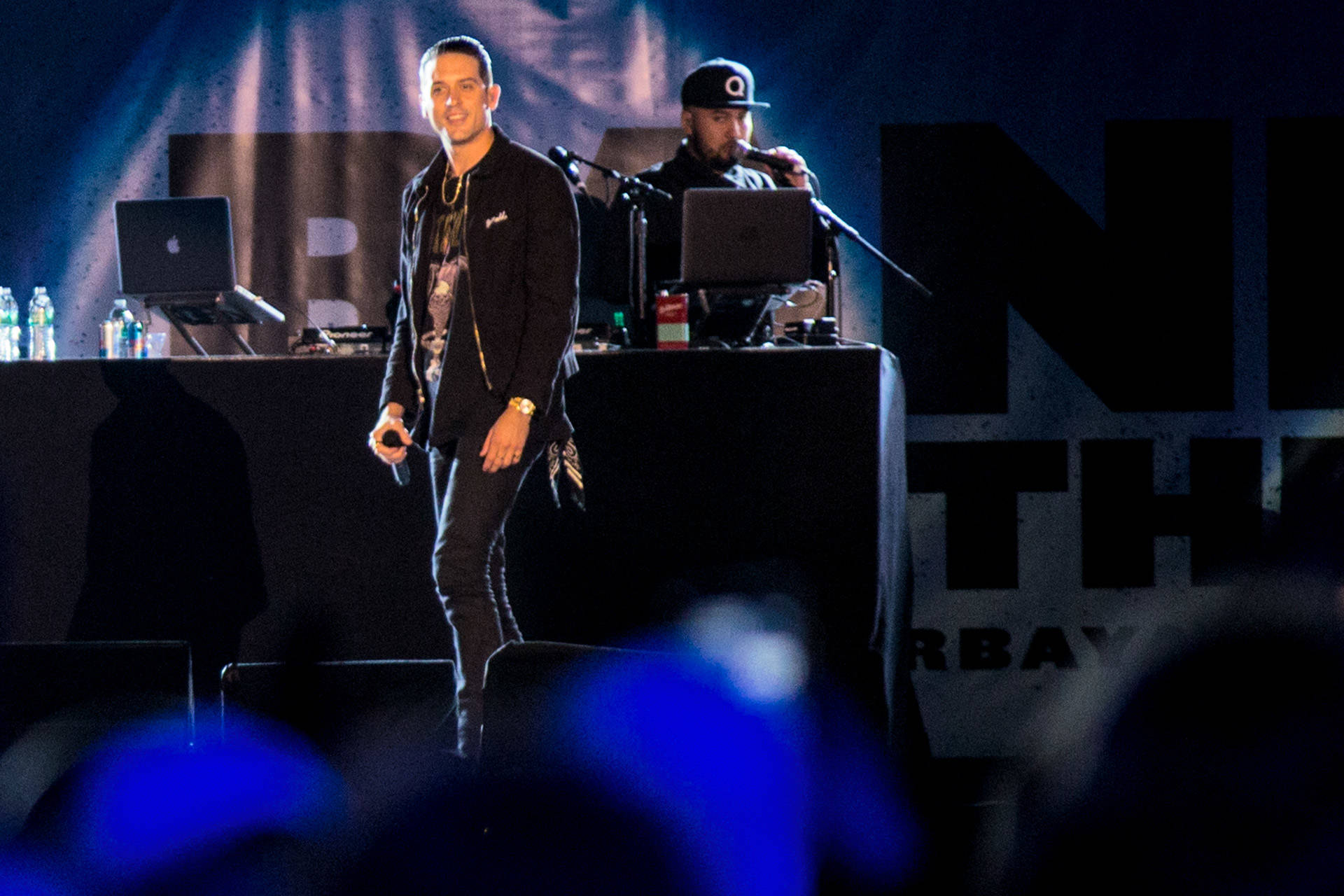 G-Eazy plays Band Together Bay Area, a benefit concert for North Bay Fire relief at AT&T Park on Thursday, November 9.