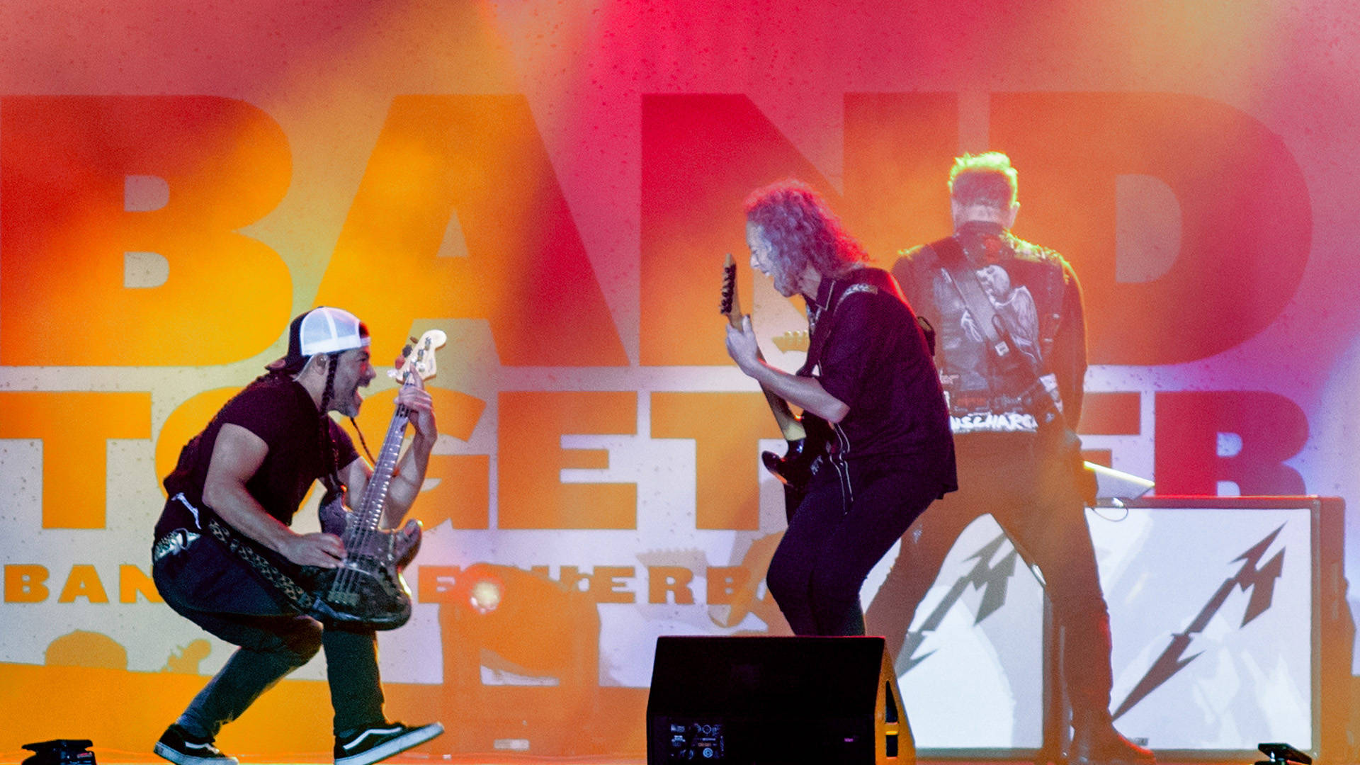 Metallica headlines Band Together Bay Area, a benefit concert for North Bay Fire relief at AT&T Park on Thursday, November 9.