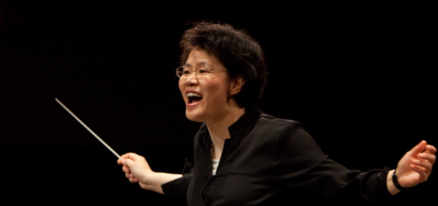 Mei Ann Chen conducts this weekend's concerts by the Santa Rosa Symphony