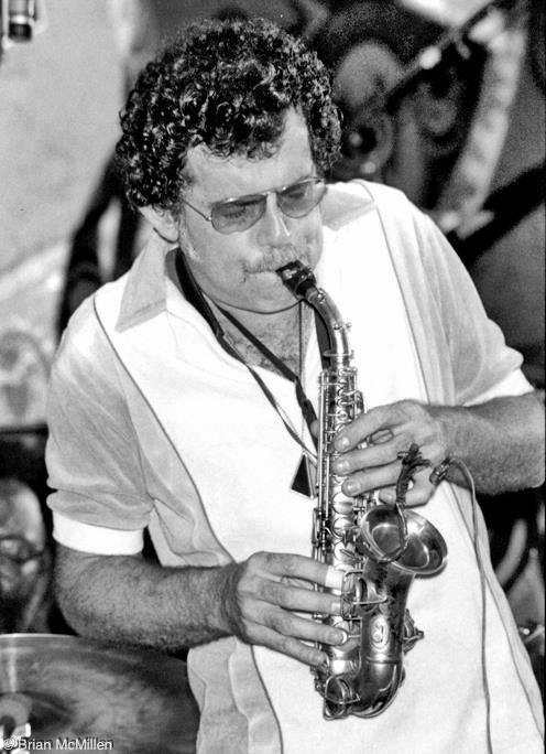 Mel Martin at Keystone Korner in the '70s. Martin was a regular at the legendary jazz club