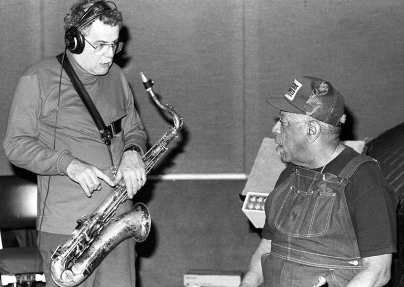 Mel Martin with Dizzy Gillespie