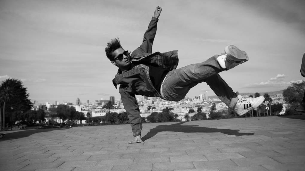 Nasty Ray performs at this years San Francisco International Hip Hop DanceFest