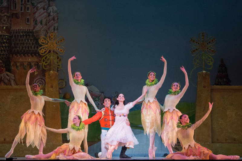 Scene from Graham Lustig's 'The Nutcracker,' performed by Oakland Ballet