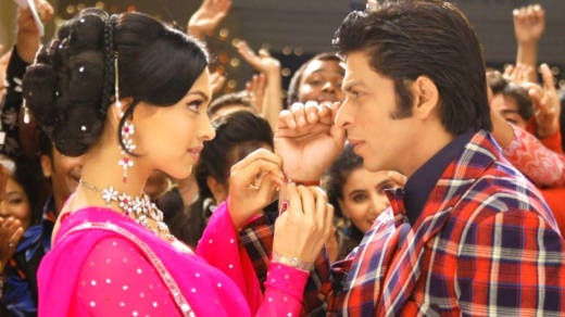 A scene from 'Om Shanti Om,' playing at this year's 3rd i International South Asian Film Festival.