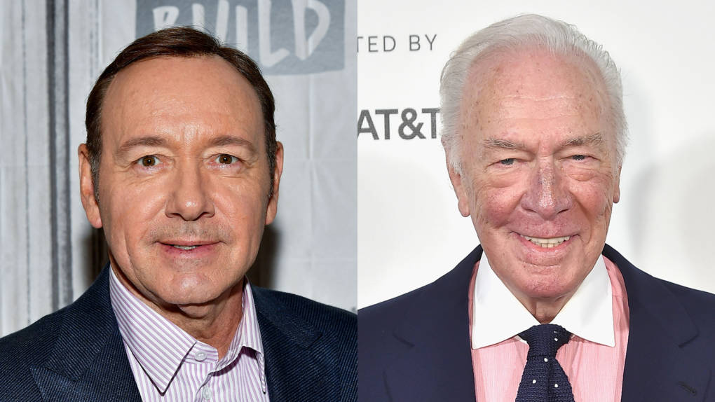 Kevin Spacey, Christopher Plummer in 2017