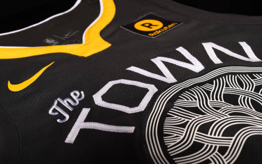 The Warriors' new 'Town' jerseys: a parting gift before the breakup, and an unoriginal one at that.