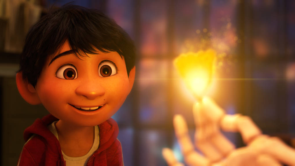 Anthony Gonzalez voices Miguel in 'Coco.'