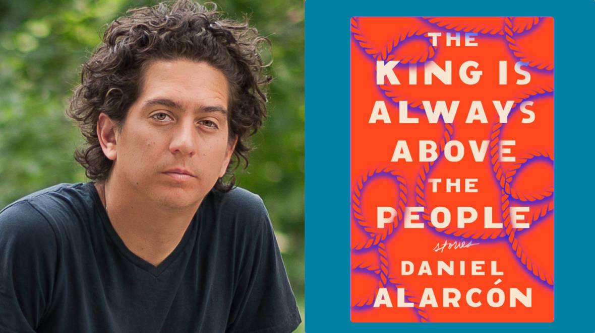 Daniel Alarcon is the author of <em>Lost City Radio</em> and the executive producer of <em>Radio Ambulante</em>, a Spanish storytelling podcast. Portrait by Adrian Kinloch.
