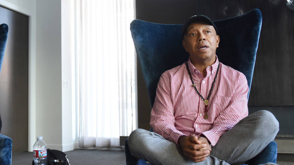 Russell Simmons, co-founder of the foundational hip-hop label Def Jam, announced he would step down from the leadership of the businesses he's founded.