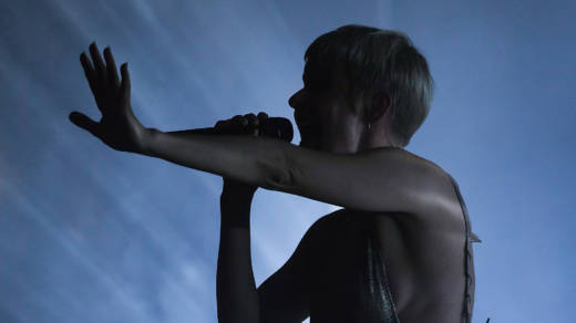 Swedish singer Robyn, performing in Boston. The pop star was one of thousands who signed on to a letter excoriating sexual harassment and abuse in the music industry.