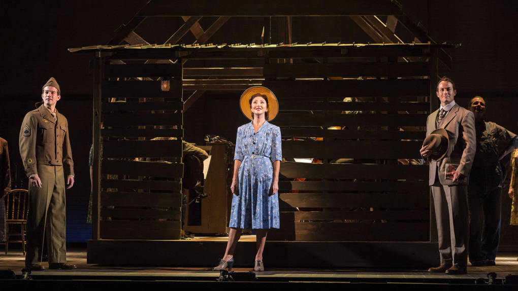 Carmen Cusack stars in Steve Martin and Edie Brickell's musical 'Bright Star'