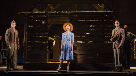 Carmen Cusack stars in Steve Martin and Edie Brickell's musical 'Bright Star'