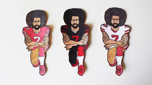 Yonas Tesfai, 'Kaepernicks,' 2017.
