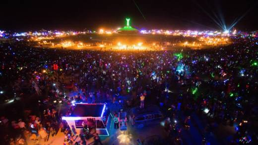 More than 79,000 people regularly attend Burning Man, which takes place over a week in Black Rock Desert. It's the largest Special Recreation Permit the Bureau of Land Management grants.