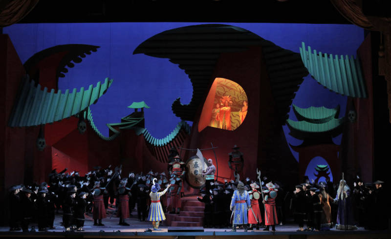 Hockney Puts Opera Set Design on Curriculum for East Palo Alto Students