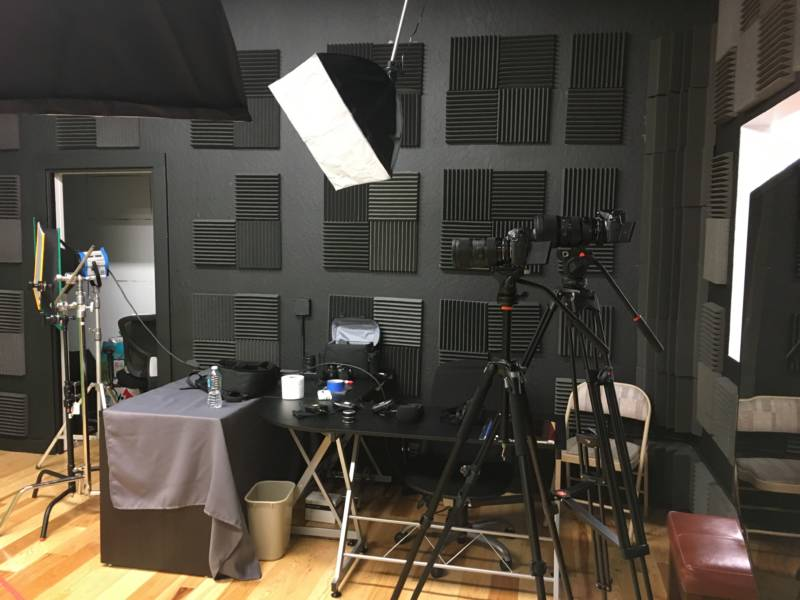 The film studio at Thizzler
