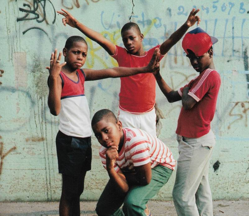 Young Boys. 1981. East Flatbush an image from OMCA's upcoming show about hip hop