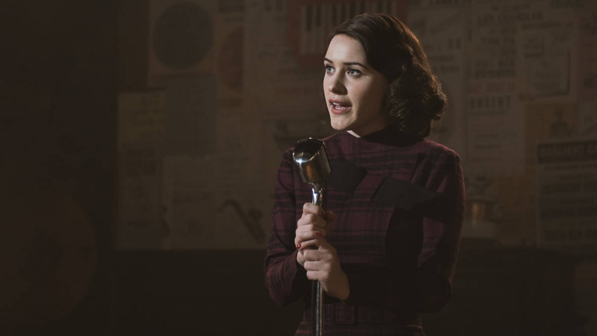 Zippy And Delightful, 'The Marvelous Mrs. Maisel' Spotlights an Unlikely Comic
