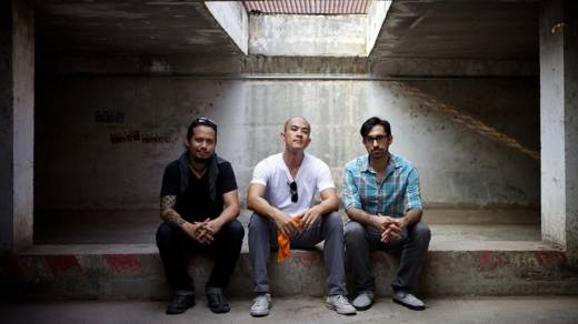 The Propeller Group, (left to right): Phunam, Tuan Andrew Nguyen and Matt Lucero.