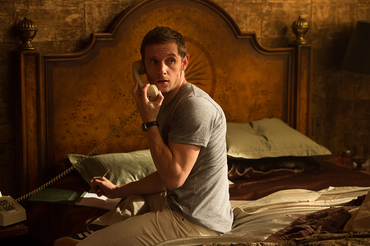 Jamie Bell as Peter Turner.