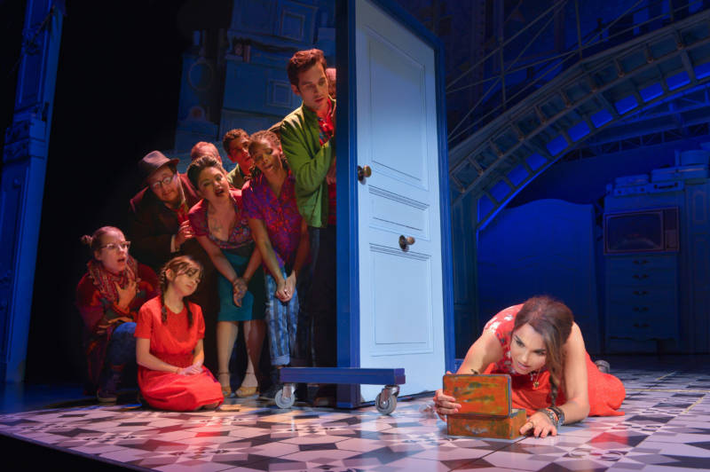 A scene from Pam MacKinnon's world premiere production of 'Amélie' at Berkeley Repertory Theatre.