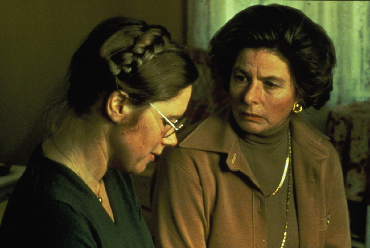 Liv Ullmann and Ingrid Bergman in 'Autumn Sonata,' 1978.