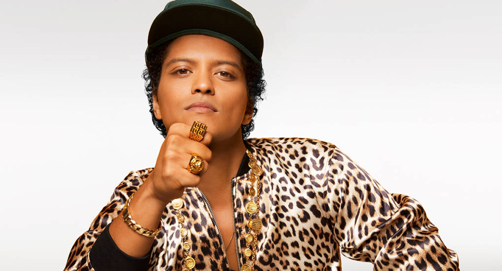 Bruno Mars headlines this year's BottleRock festival in Napa.
