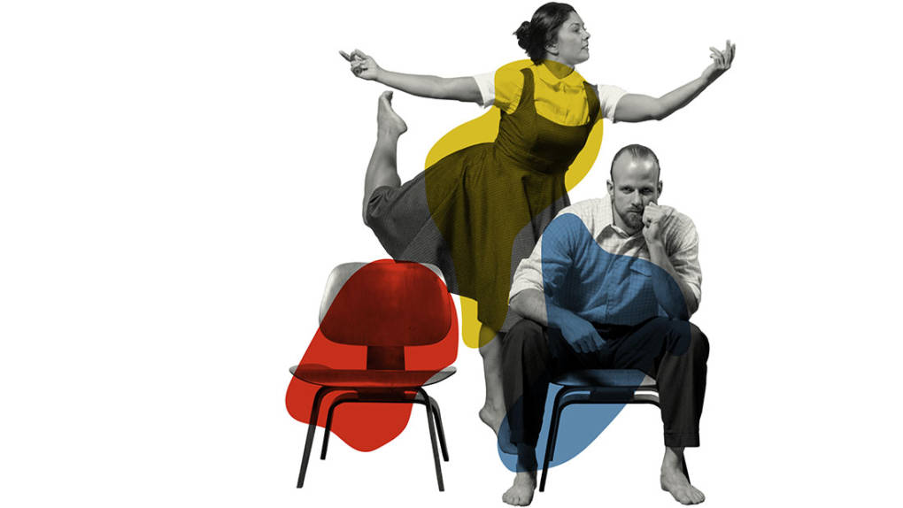 Heather Arnett and Patrick Barnes in 'Eames.'