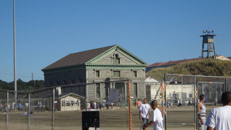 Greystone Chapel at Folsom Prison. The granite building was the inspiration for Glen Sherley's song of the same title.
