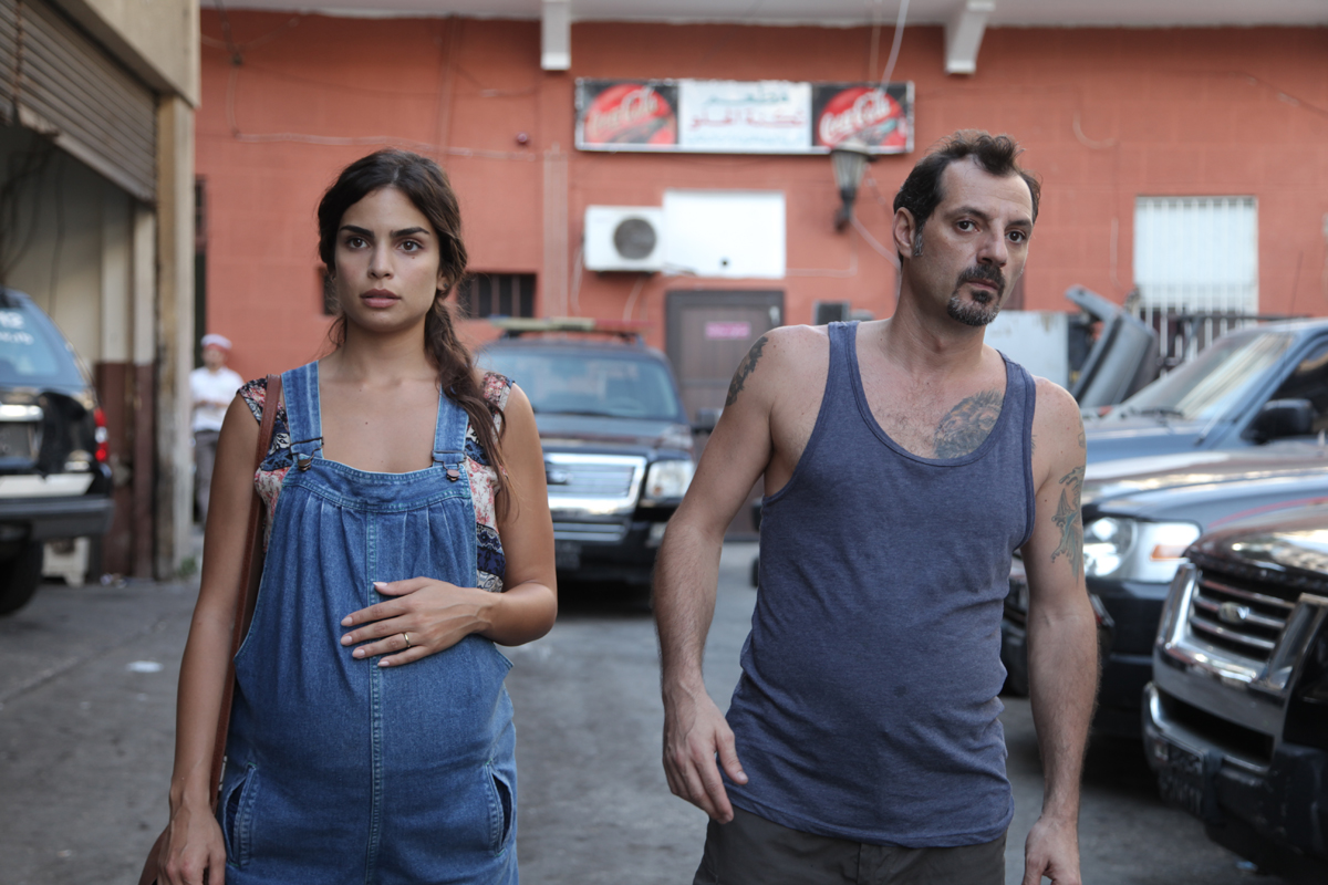 Rita Hayek and Adel Karam in 'The Insult.'