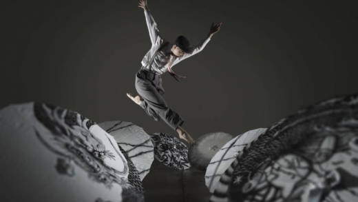 Leesha Zieber of KAMBARA + DANCERS in Yayoi Kambara's 'IKKAI:Once.'