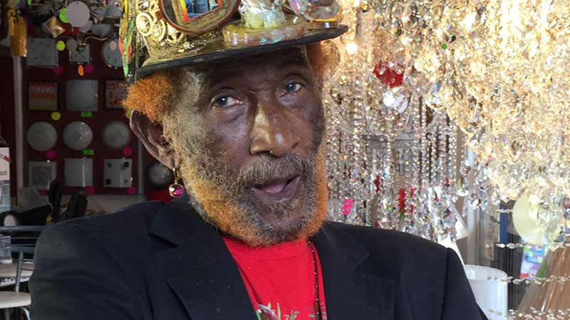 """Lee """"Scratch"""" Perry."""