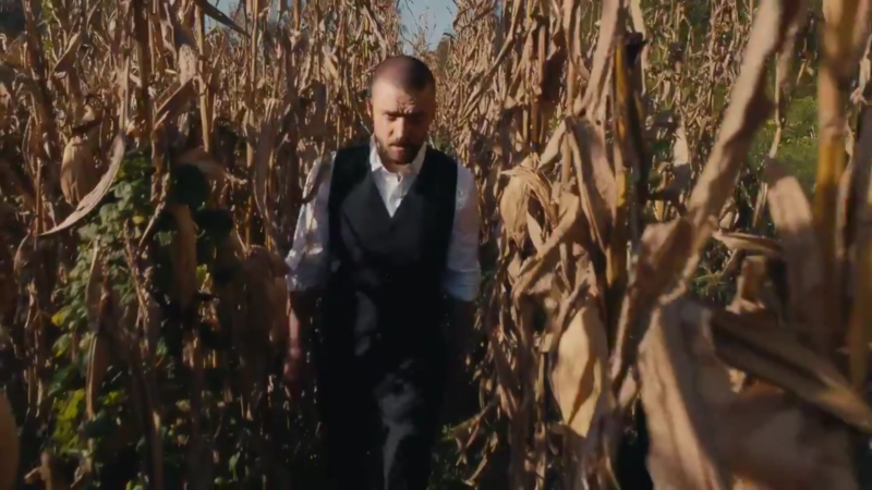 A scene from the trailer for Justin Timberlake's album.
